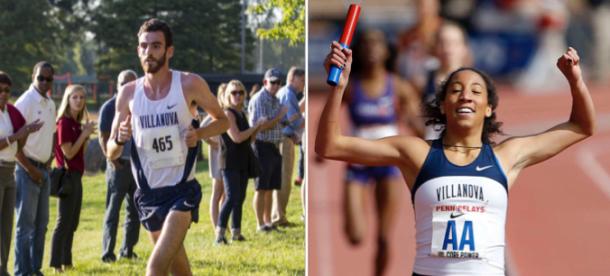 -Left: Villanova Athletics//Right: Philly.com